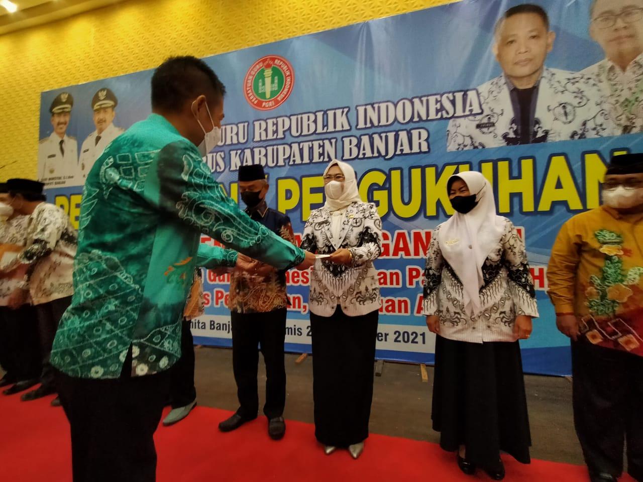 Kepengurusan PGRI Banjar Resmi Dilantik Periode 2020 - 2025