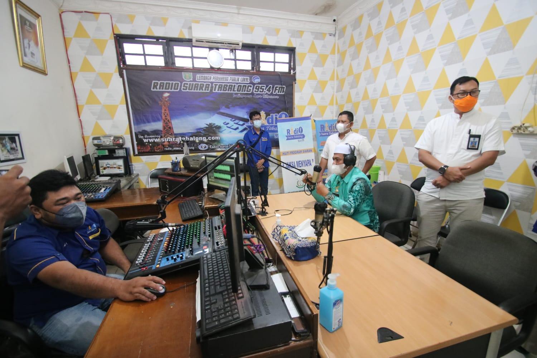 DKISP Banjar Studi Banding ke LPPL Tabalong TV dan Radio